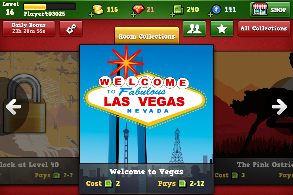 Bingo Vegas screenshot 1